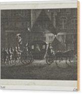 Departure Of Alva From Amsterdam, 1573, Barent De Bakker Attributed To, After Hermanus Petrus Scho Wood Print