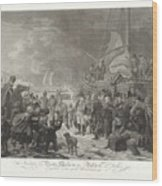 Departure Of Prince William V, 1795, Joannes Bemme, After Dirk Langendijk, After Christoffel Meijer, Wood Print