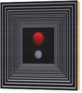 Depth   -2- Wood Print