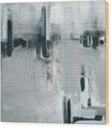 Depth Sounder Wood Print