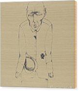 Der Erwerbslose (the Unemployed Man) Wood Print
