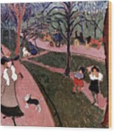 Derain: Hyde Park Wood Print