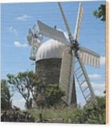 Derbyshire Windmill Wood Print