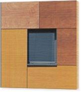 Derbyshire Window Wood Print