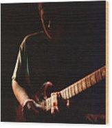 Derek Trucks Slide And Shadow Wood Print