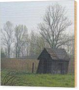 Derelict Wood Print
