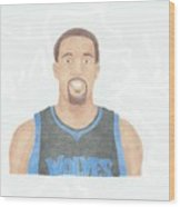 Derrick Williams Wood Print