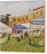 Derry Homegrown Market Wood Print