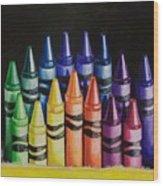 Des Colores Wood Print