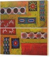 Descendance Dyptich Wood Print