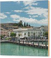 Desenzano Del Garda Lake Garda Italy Wood Print