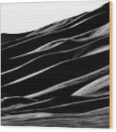 Desert Abstract Wood Print