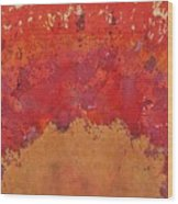Desert Arch Original Painting Wood Print