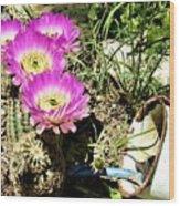 Desert Blossom Wood Print