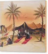 Desert Delights Wood Print