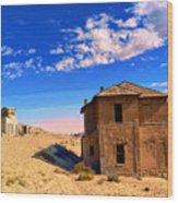Desert Dreamscape 2 Wood Print