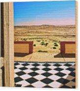 Desert Dreamscape Wood Print