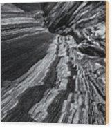 Desert Flow Wood Print