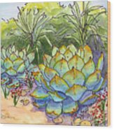 Desert Gifts Wood Print