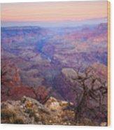 Desert Glow Wood Print