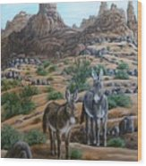 Desert Gypsy's Wood Print