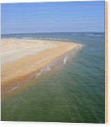 Desert Island Wood Print