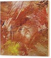 Desert Land Wood Print