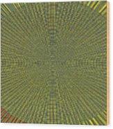 Desert Marigold Flowers Abstract #2 Wood Print