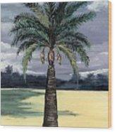Desert Palm 2 Wood Print