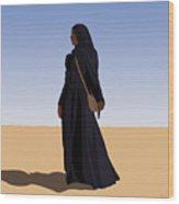 Desert Sand Wood Print