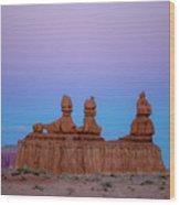 Desert Sisters Wood Print