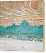 Desert Splendor Wood Print