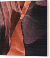 Desert Split Wood Print