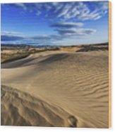 Desert Texture Wood Print