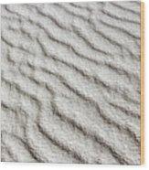 Desert Textures 1 Wood Print