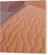 Desert Textures Wood Print