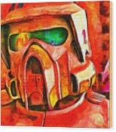 Desert Trooper - Pa Wood Print