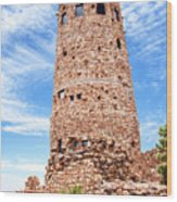 Desert View Tower, Grand Canyon Wood Print