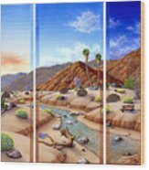Desert Vista Wood Print