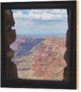Desert Watchtower View Grand Canyon  Wood Print
