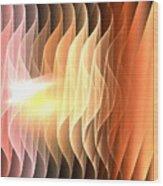 Desert Waves Wood Print