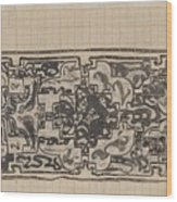Design For A Binding For Charivaria, Carel Adolph Lion Cachet, 1874 - 1945 Wood Print