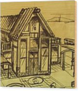 Design Sketch  Wood Print