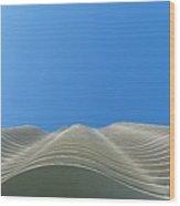 Designer Waves Wood Print