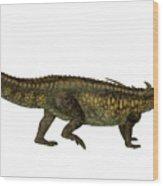 Desmatosuchus Profile Wood Print