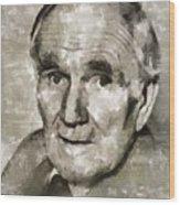 Desmond Llewelyn, Actor Wood Print