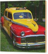 Desoto Skyview Taxi Wood Print