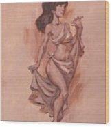 Despina Wood Print