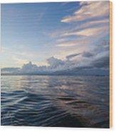 Destin High Tide Wood Print