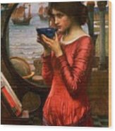Destiny Wood Print by John William Waterhouse
